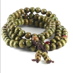 Jewelry - Mala Bracelet or Necklace 108 Sandalwood Beads
